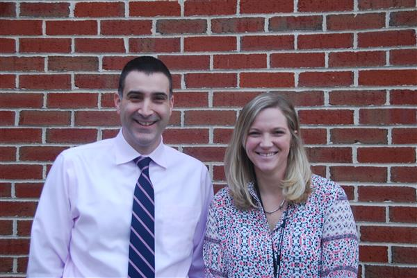 Principal Nick Napoitano and Assistant Principal Whitney Boring