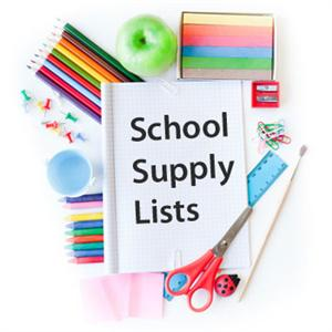 Supply lists for SY 2017-2018