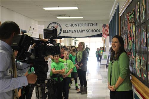 Green Day at Ritchie