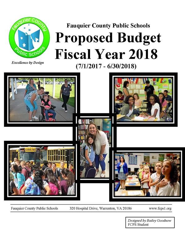 Link to  2017-2018 Proposed Budget