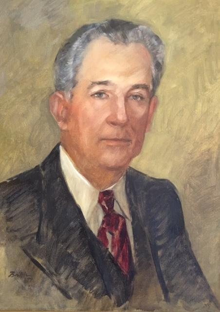 Photo of H.M. Pearson portrait