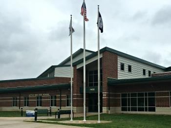 Image of the entrance to Kettle Run High School