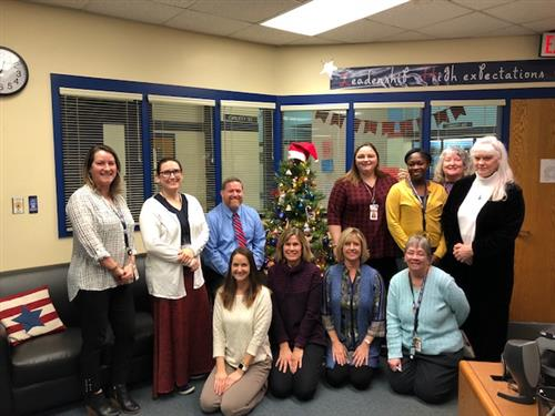 LHS Counseling Staff Christmas 2018