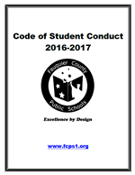 Code of Student Conduct Cover Page