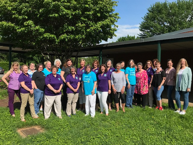 Picture of Fauquier County Public School library staff