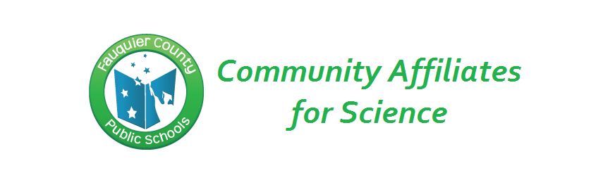 Image with FCPS Logo Community Affiliates for Science