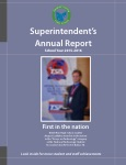 Image of the cover of the FY15-16 Superintendent's annual report