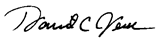 Image of David Jeck's signature