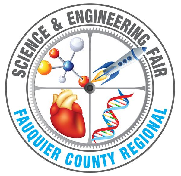 Logo for Fauquier Regional Science & Engineering Fair links to news article