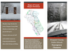 Image of Emergency closure brochure depicting snow on the roads, a map of Fauquier County and WMS school sign